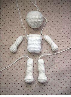 basic amigurumi doll pattern :) Grandma! What is amigurumi? http://voices.yahoo.com/what-amigurumi-2397267.html