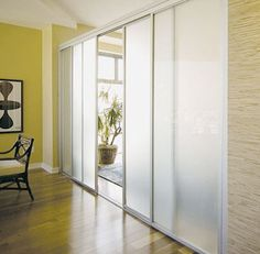 Room dividers can be a great way to section off a studio, but if you go for an opaque version, it can make a small space seem even smaller. The solution? Screens, curtains, and walls that allow light to filter through...