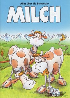 Alles über Schweizer Milch Kindergarten, Bowser, Comics, Posters, Fictional Characters, French, Switzerland, Teacher Tools, Food