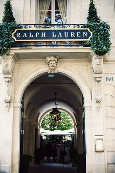 Ralph Lauren, Paris.