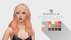 Lana CC Finds - bobieplum:    my new favourite hair by...