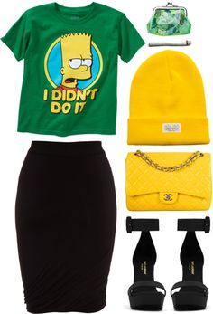 """""""i didn't do it."""" by goldiloxx ❤ liked on Polyvore"""