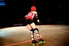HIIT those 27 laps hard – Roller Derby Workout Video!