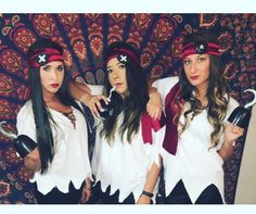 Pirate outfit for Pikes of the Caribbean party!