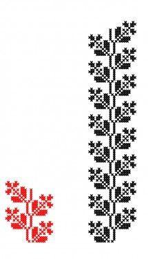 Poze MP563 Cross Stitch Tattoo, Cross Stitch Rose, Stitch Patterns, Knitting Patterns, Sewing Patterns, Knit Stranded, Palestinian Embroidery, Cross Stitch Letters, Crochet Curtains