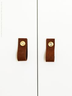 Via Skonahem | Leather Door Handles