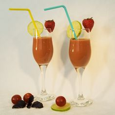 Bloody Mary aux fraises