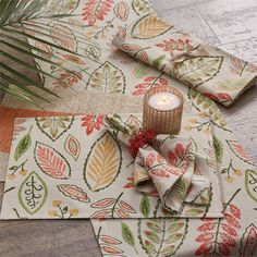 Freya Placemat Natural Home Decor, Placemat, Earth Tones, Tropical, Gift Wrapping, Texture, Floral, Prints, Pattern