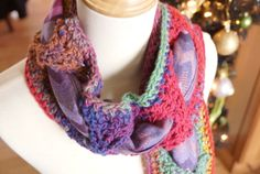 Crochet Scarf within A Scarf Free pattern