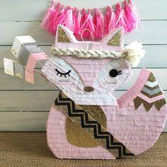 Piñata mini Pinata torta mesa fiesta Boho Boho partido