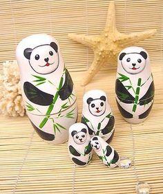 Panda Nesting Dolls US$17.95