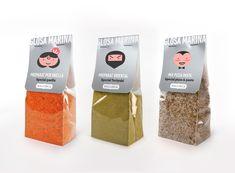 Diseño etiquetas especias Mallorca, Diseño envase productos Mallorca