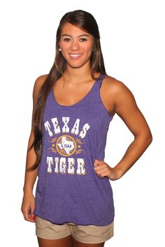 LSU Texas Tiger tank