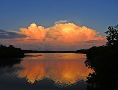 """Margo Gripp- """"Not much of a sunset in Fort Myers, FL tonight, but here's a great one from Lovers Key last June!"""""""