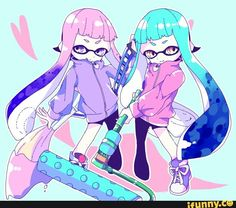 splatoon, inkling
