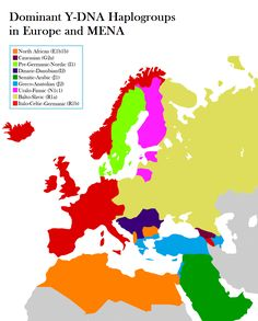 What if European countries were formed based on genetics instead of ethnicities.
