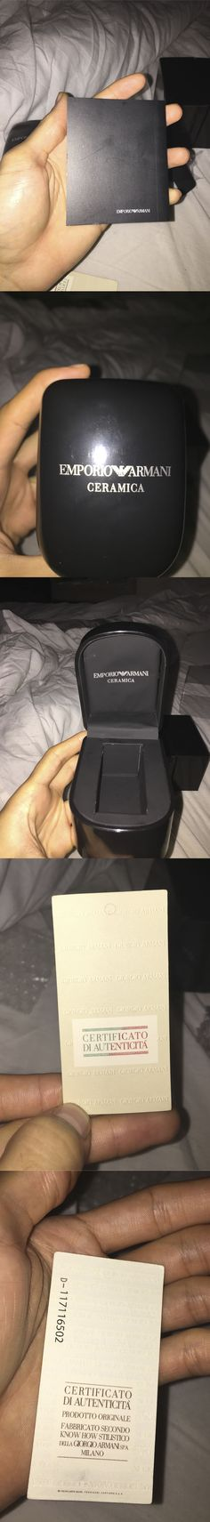 How to spot a fake Emporio Armani EA watches