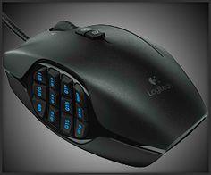 Logitech G600 Mouse Engineering Science, Rad Tech, Logitech, Ergonomic Mouse, Cool Gadgets, Cool Stuff, Interesting Stuff, Computer Mouse, Design Trends