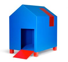 modern dog house by forma italia. Miles appreciates the cool design, but turns his nose up at sleeping in a dog house. *spoiled*