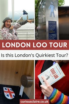 Looking for something fun, quirky and unusual to do in London? Why not take the London Loo Tour! It's the best walking tour in London! #travel #london #londontravel #europe #walkingtour #unitedkingdom #visituk #england #londontravel #explorelondon | Things to do in London | Best Walking Tours in London | Unusual Tours in London | London Sightseeing | London Bucket List | London Itinerary | Unusual Things to do in the UK | London Travel Tips | Explore London | London Travel | UK Travel