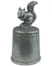Busy Squirrel Thimble