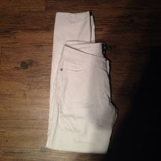 White jeans White low rise jeans size :11 Jeans