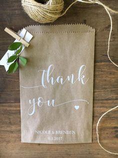 Wedding favor bags Cookie or Candy Buffet Bags Dessert Bar | Etsy