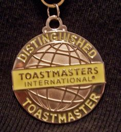 When I do something, I do it 100%-the Distinguished Toastmaster award I got in 2006 is one of the highlights of my life.
