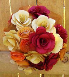 Wedding Bouquet  Rehearsal bouquet Toss by SweetPeasFlorals, $100.00