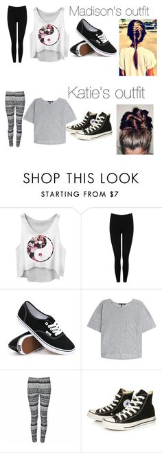 """Ignore plz"" by karinagrier ❤ liked on Polyvore featuring M&Co, Vans, rag & bone, Ally Fashion and Converse"