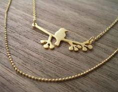 collier  oiseau petit modèle de Shlomit Ofir