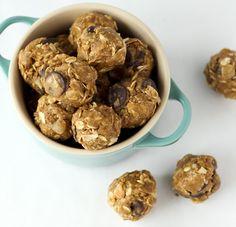 no-bake protein bites... kinda like cookie dough