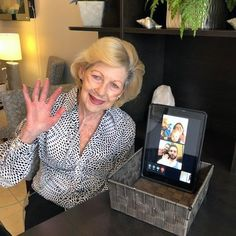 Residents at Four Elms Retirement Residence in Thornhill are connecting with family members through video calls! Wellness Activities, Assisted Living, Senior Living, Retirement, Health Care, Community, Retirement Age, Health