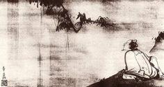 李白 Li Po – You ask why I make my home in the mountain forest, and I smile, and am silent, and even my soul remains quiet: it lives in the other world which no one owns. The peach trees blossom, The water flows. Taoism, Buddhism, Haiku, October Poem, Li Bai, Law Of Love, Rise And Run, Oriental, Eastern Philosophy
