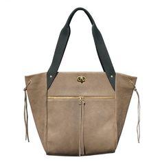 Casaque shoulder bag in light brown