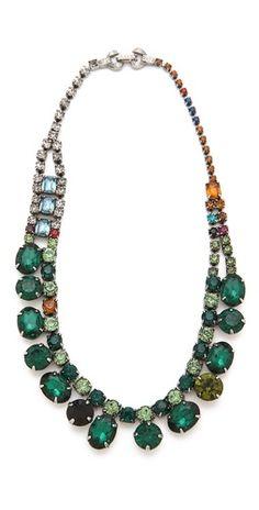 jewel tone sparkles. loving emerald! #coloroftheyear