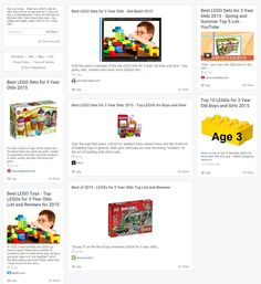 Best LEGOs for Kids - Top Gift Ideas for 3 Year Olds 2015 @ Rebelmouse