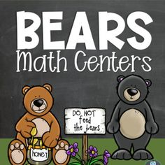 Grab this easy to prepare and teach bear themed math center activities set! Use bear themed printables in your preschool or kindergarten classrooms to build important early math skills. Perfect for whole groups, small groups lessons, as well as center activities. The set included SIMPLE, FUN, and EF... Bear Theme Preschool, Kindergarten Classroom, Preschool Activities, Early Math, Early Literacy, Activity Centers, Math Centers, Math Skills, Math Lessons