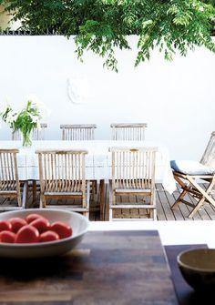 ChicDecó: Una casa en blanco bañada de luzWhite and light South-African home