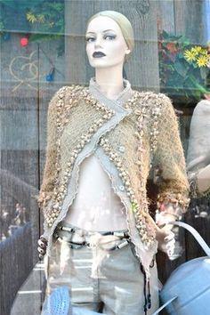 Chanel jacket sparkle shine fashion so chic