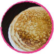 • Crêpes à la farine d'amarante par Mon Panier Sans Gluten •