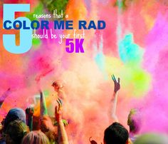 Want to do the color run