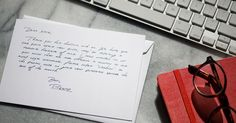 Send handwritten notes on customizable stationery from your phone or computer.