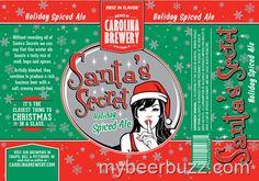 mybeerbuzz.com - Bringing Good Beers & Good People Together...: Carolina Brewery - Santa's Secret Holiday Spiced A...