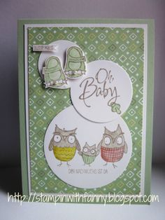 #stampin up-karte-geburt-Kleine ganz groß-baby we've grown-dp süße sorbets-sab 2014-framelits kreise circles-match the sketch