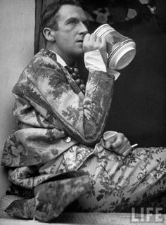 Sir Cecil Walter Hardy Beaton, CBE (1904-1980) was an English fashion, portrait and war photographer, diarist, painter, interior designer and an Academy Award-winning stage and costume designer for films and the theatre. He was named to the International Best Dressed List Hall of Fame in 1970.