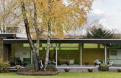Richard Neutra | Pescher House, Wuppertal, Germany, 1968