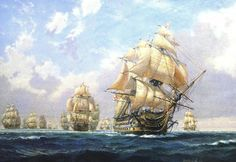 Provides more appropriate ship detail Hms Warrior, Sail Racing, Old Sailing Ships, Trinidad, Ship Of The Line, Vintage Boats, Ship Paintings, Nautical Art, Art