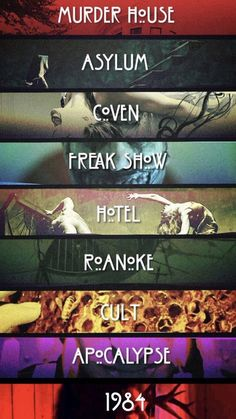 American Horror Story Memes, American Horror Story Seasons, American Horror Story Tattoo, Ahs, Movies And Series, Tv Series, Disney Channel, Cartoon Network, Marvel Dc Movies
