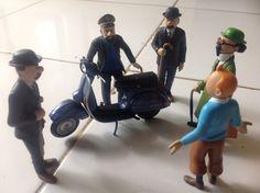 Vespa and Tintin